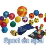 Knop Sport en spel